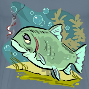 Cartoon Fish - Men's Premium T-Shirt