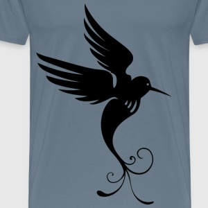 Bird Of Paradise Silhouette - Men's Premium T-Shirt