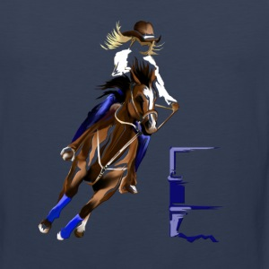 BARREL HORSE - Men's Premium Tank