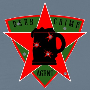 beer crime agent          us - Men's Premium T-Shirt