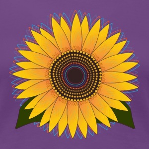 Sunny Sunflower T-Shirts - Women's Premium T-Shirt