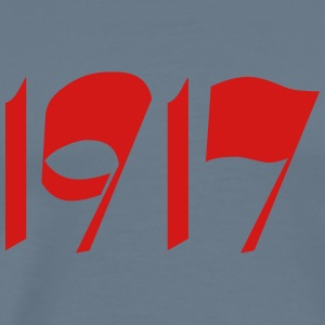 100 years october revolution 1917 - Men's Premium T-Shirt