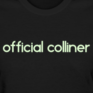 Design ~ GLOW IN THE DARK OFFICIAL COLLINER SHIRT (GIRLS)