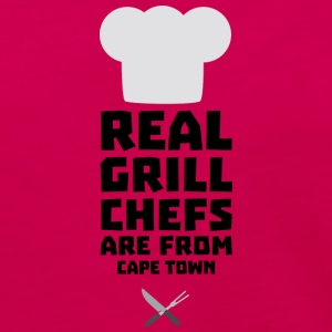 Real Grill Chefs are from Cape Town Sp68p Long Sleeve Shirts - Women's Premium Long Sleeve T-Shirt