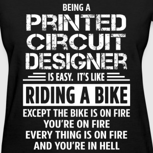Printed Circuit Designer - Women's T-Shirt