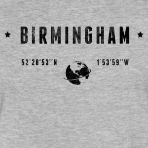 Birmingham T-Shirts - Fitted Cotton/Poly T-Shirt by Next Level