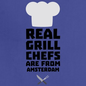 Real Grill Chefs are from Amsterdam Sl267 Aprons - Adjustable Apron