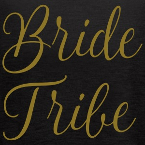 Bride Tribe Gold letters - Women's Flowy Tank Top by Bella