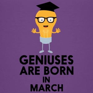 Geniuses are born in MARCH Sv461 Baby & Toddler Shirts - Toddler Premium T-Shirt
