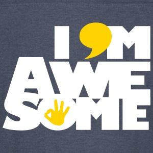 I AM AWESOME - Vintage Sport T-Shirt