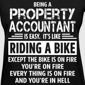 Property Accountant - Women's T-Shirt