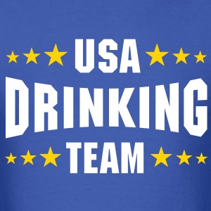 USA Drinking Team - Men's T-Shirt