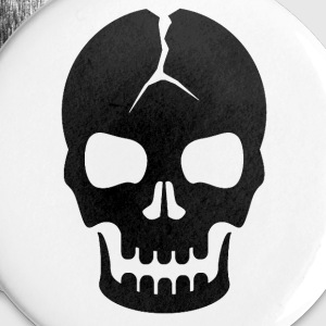 Scary Skull - Large Buttons