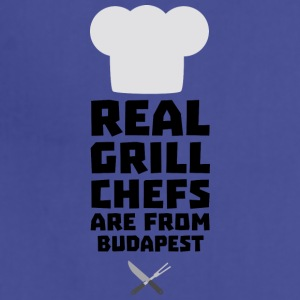 Real Grill Chefs are from Budapest S6tup Aprons - Adjustable Apron