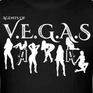 Sexy Agents Of VEGAS Mens T-Shirt - Men's T-Shirt