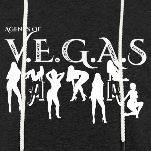 Sexy Agents Of VEGAS Mens Light Weight Terry Hoodi - Unisex Lightweight Terry Hoodie