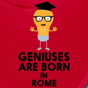 Geniuses are born in ROME S3ip8 Caps - Bandana