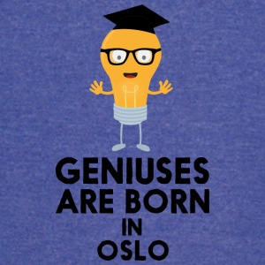 Geniuses are born in OSLO Sh6qa T-Shirts - Vintage Sport T-Shirt