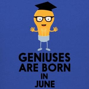 Geniuses are born in JUNE S7c8k Sweatshirts - Kids' Premium Hoodie
