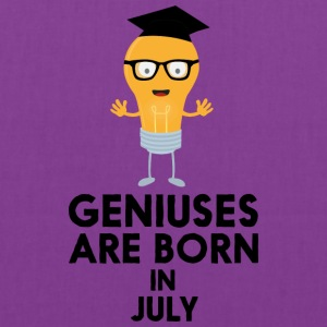 Geniuses are born in JULY Sai0a Bags & backpacks - Tote Bag