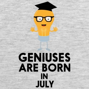 Geniuses are born in JULY Sai0a Sportswear - Men's Premium Tank