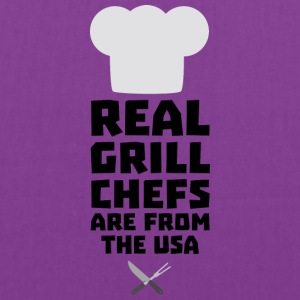 Real Grill Chefs are from The USA S1698 Bags & backpacks - Tote Bag