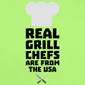 Real Grill Chefs are from The USA S1698 Baby Bodysuits - Short Sleeve Baby Bodysuit