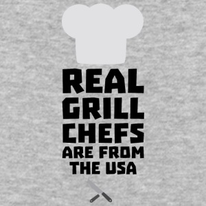 Real Grill Chefs are from The USA S1698 T-Shirts - Baseball T-Shirt