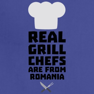 Real Grill Chefs are from Romania S2a9z Aprons - Adjustable Apron
