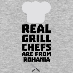 Real Grill Chefs are from Romania S2a9z T-Shirts - Baseball T-Shirt