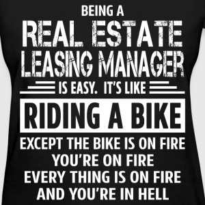 Real Estate Leasing Manager - Women's T-Shirt