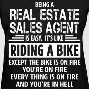 Real Estate Sales Agent - Women's T-Shirt