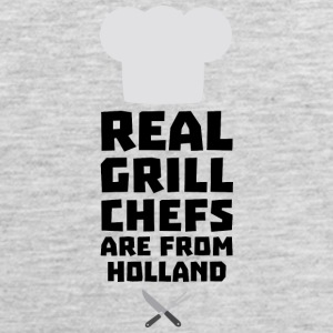 Real Grill Chefs are from Holland S3q61 Sportswear - Men's Premium Tank