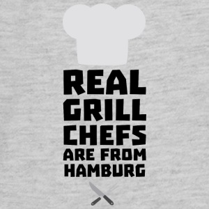 Real Grill Chefs are from Hamburg S4u7m Kids' Shirts - Kids' Premium Long Sleeve T-Shirt