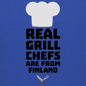 Real Grill Chefs are from Finland Skwx2 Sweatshirts - Kids' Premium Hoodie