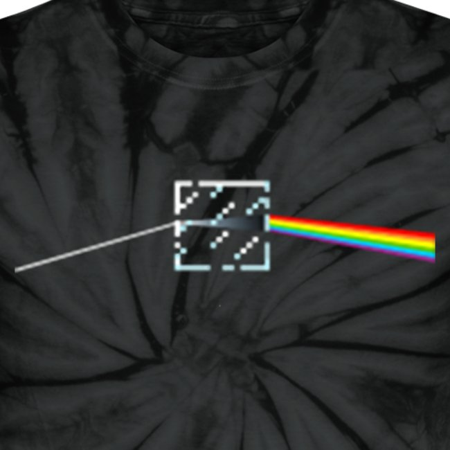 Minecraft: Pink Floyd Type Logo Rainbow Prism - Creeper Creative Survival  Hungry Cool Diamond Sword Pick Axe Food Mining Design Fun Nerd Geek Gaming