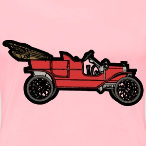 Red 1910 ModelT - Women's Premium T-Shirt