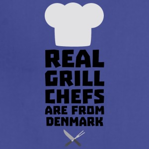 Real Grill Chefs are from Denmark Sxyp3 Aprons - Adjustable Apron