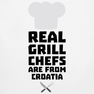 Real Grill Chefs are from Croatia St141 Baby Bodysuits - Long Sleeve Baby Bodysuit
