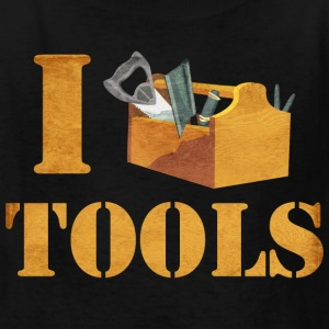 I Love Tools Kids' Shirts - Kids' T-Shirt