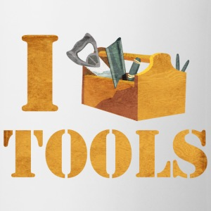 I Love Tools Mugs & Drinkware - Coffee/Tea Mug