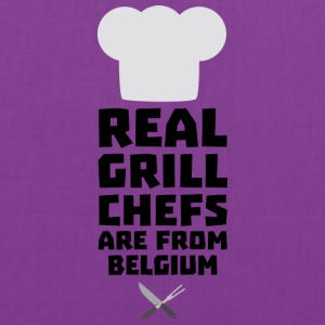 Real Grill Chefs are from Belgium S7677 Bags & backpacks - Tote Bag