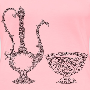 Vintage Ornamental Jug - Women's Premium T-Shirt