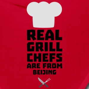 Real Grill Chefs are from Beijing Sa56a Caps - Bandana