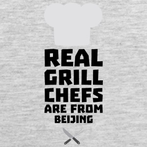 Real Grill Chefs are from Beijing Sa56a Sportswear - Men's Premium Tank