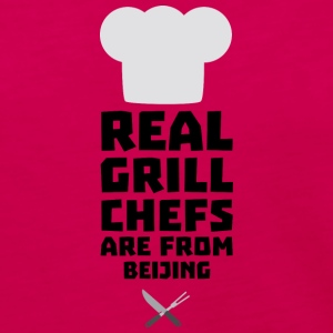Real Grill Chefs are from Beijing Sa56a Long Sleeve Shirts - Women's Premium Long Sleeve T-Shirt