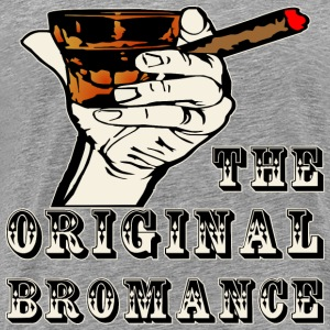 The Original Bromance Whiskey & Cigars - Men's Premium T-Shirt