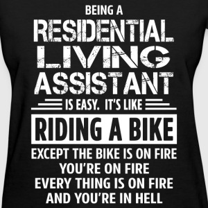 Residential Living Assistant - Women's T-Shirt