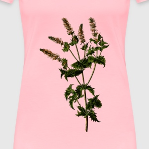 Spearmint (detailed) - Women's Premium T-Shirt
