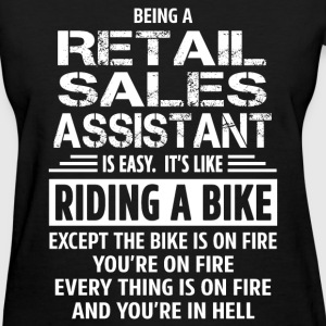 Retail Sales Assistant - Women's T-Shirt